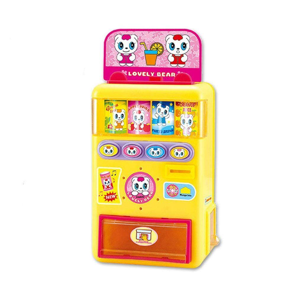 Redcolourful Simulate Electric Talking Vending Machine Set With Music Kids Play-House Toy Gift Ornament By Redcolourful.