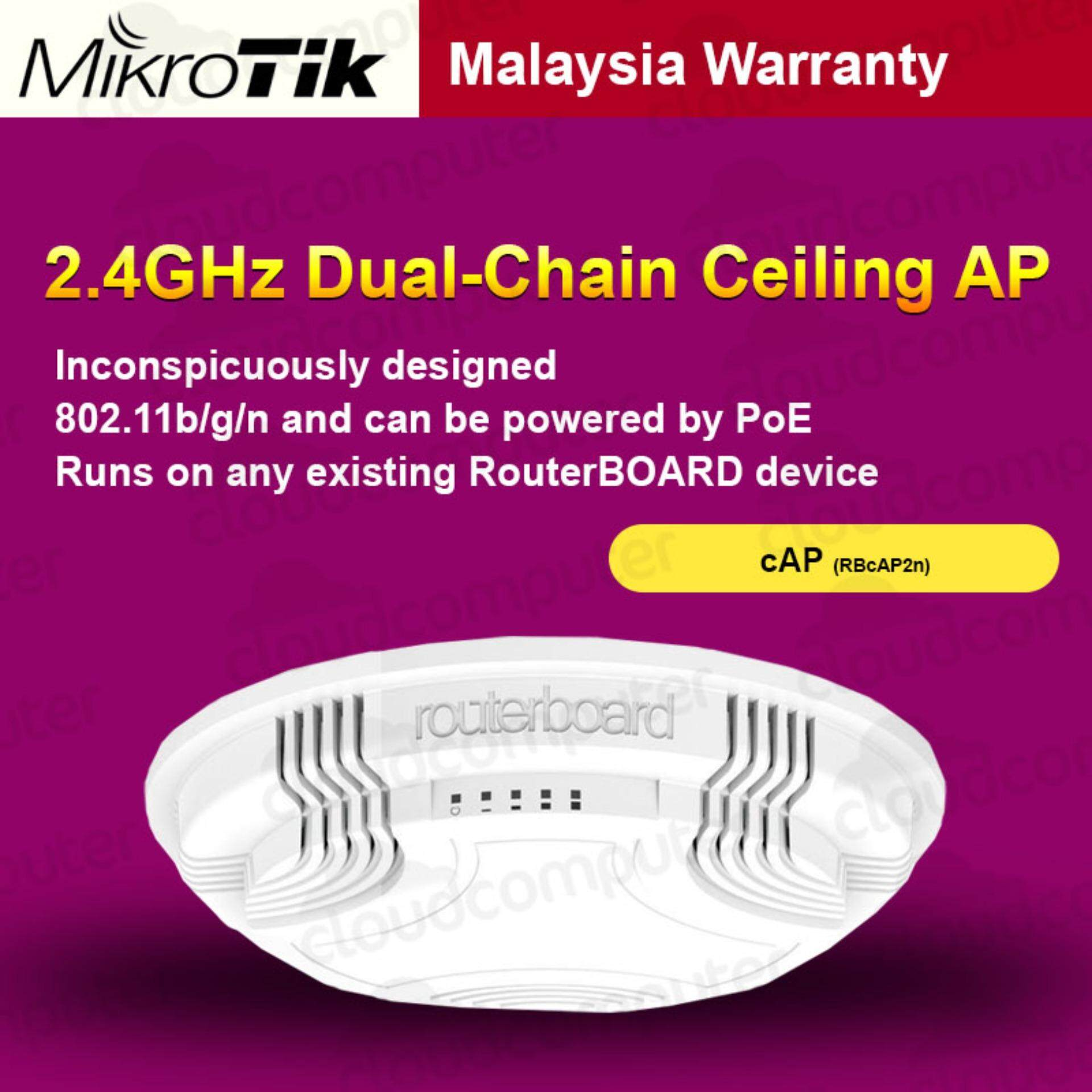 Mikrotik Buy At Best Price In Malaysia Routerboard Rb750gr3 Hex R3 Ceiling Mount Access Point Cap 2n Rbcap2n