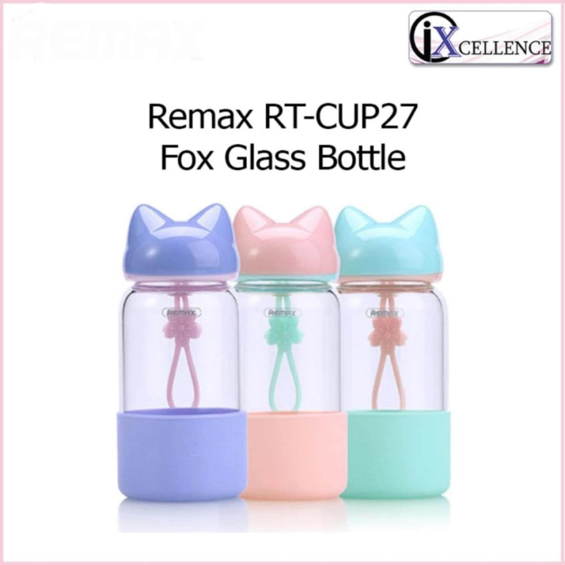 [IX] Remax RT-CUP27 Fox Glass Bottle