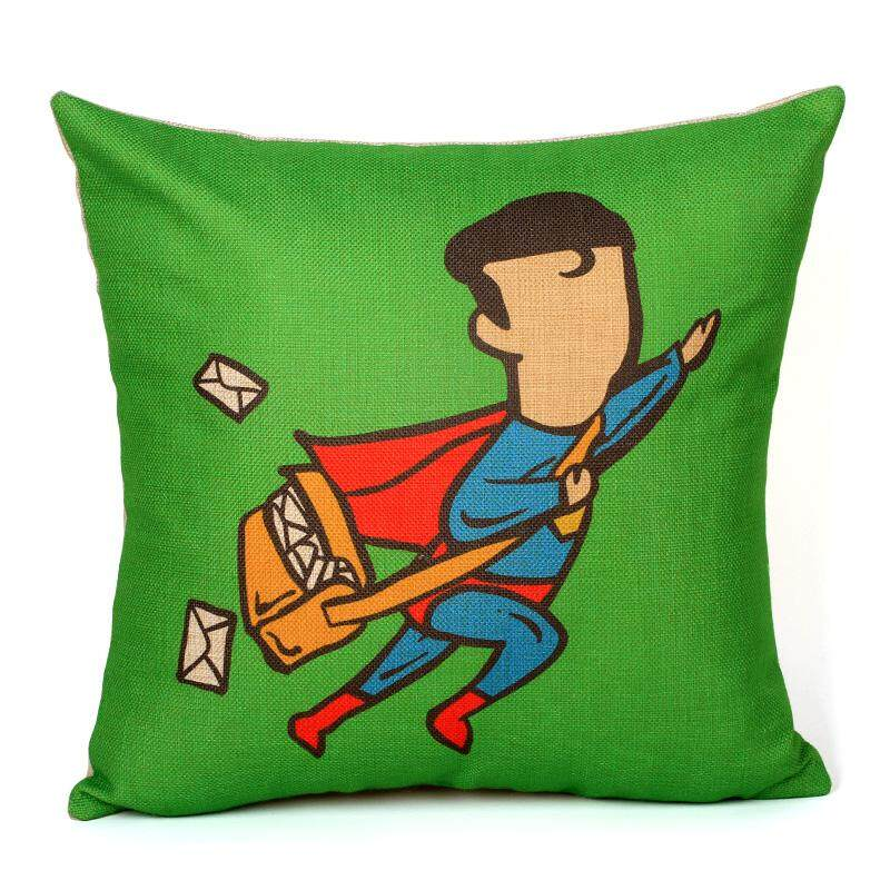 INFINITE Creative SuperHero Cushion Cover- Superman