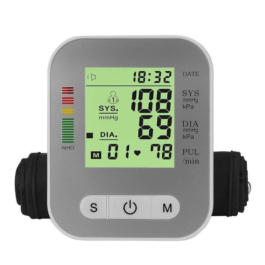 Features Yika Arm Style Electric Blood Pressure Monitor Full Tensimeter Digital Wristband Detail Gambar Automatic Sphygmomanometer Terbaru