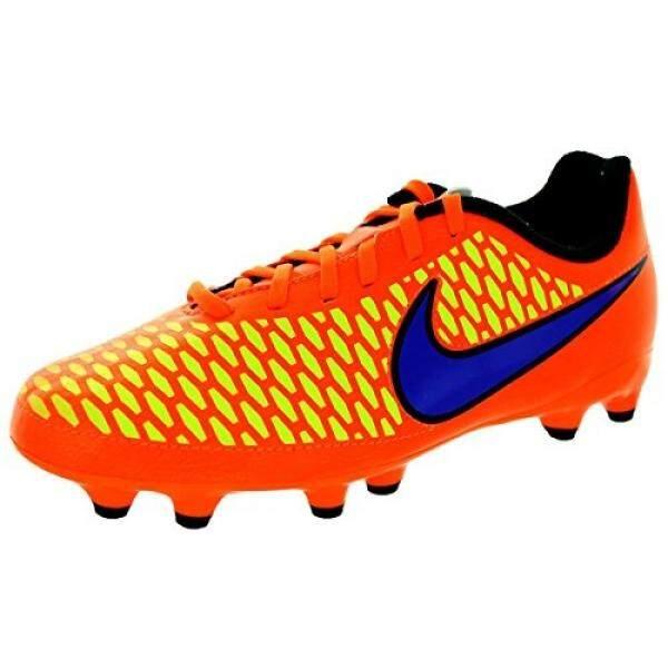 Nike Kids Jr Magista Onda Fg Ttl Orng/Prsn Vlt/Lsr Orng/Hyp Soccer Cleat 6 Kids US - intl