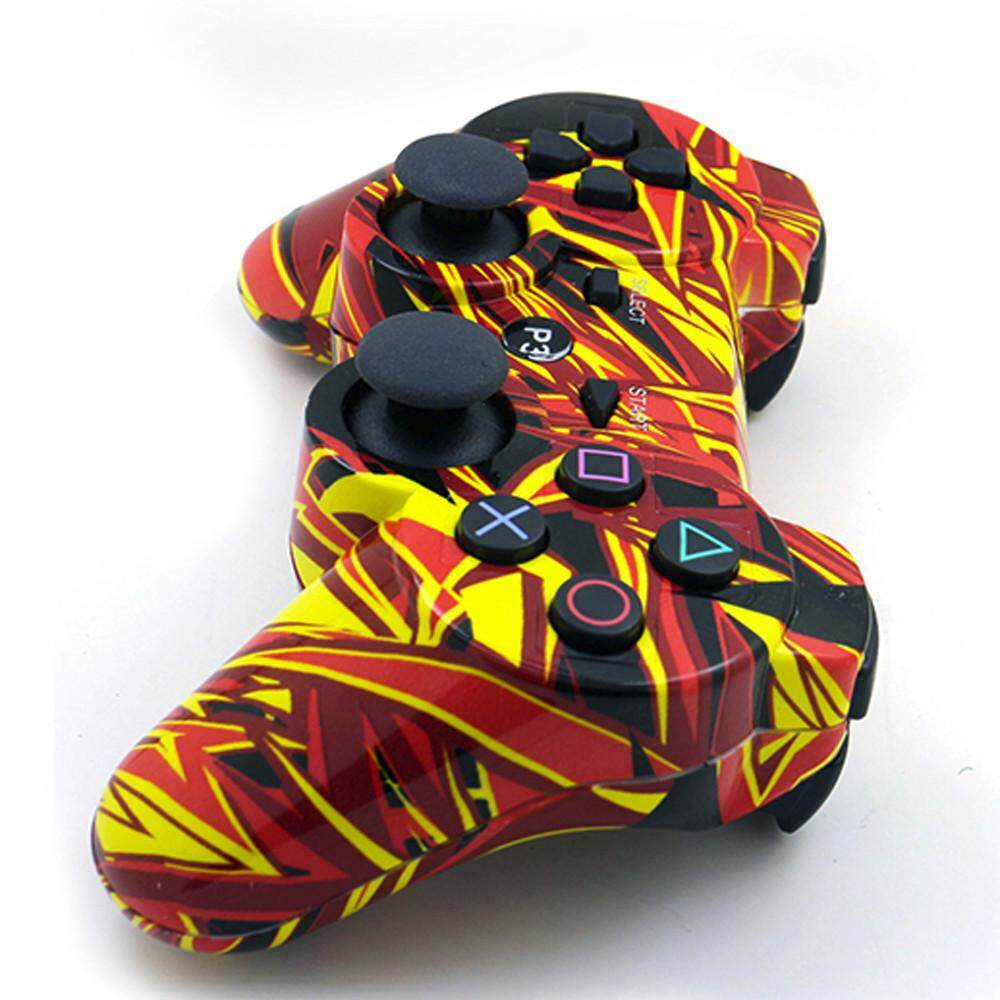 Camouflage USB Wireless Controller Game Remote Controller Gamepad for PS3 Malaysia