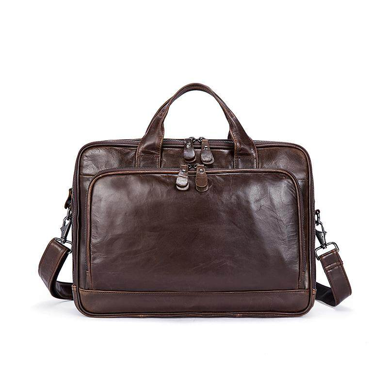 Office Bag Men Genuine Leather Men Bags Men s Briefcases Handbags Leather  Laptop 1a640f802951d