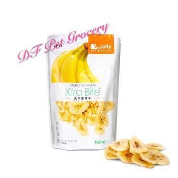 Jolly Dried Banana 120g (Xtra Bite) JP11 -Treats for all small animals