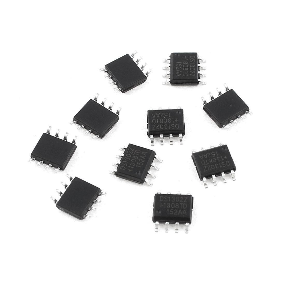 AXA 10 Pcs DS1302Z SOP-8 Trickle-Biaya Penunjuk Waktu Jam Real-Time IC Chip