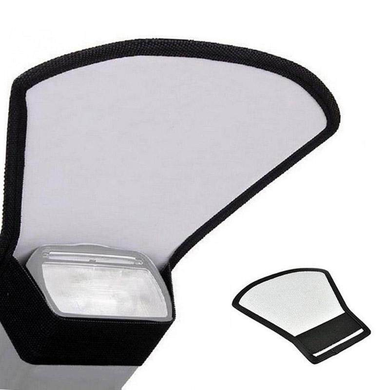 Chux Universal Camera Flash Diffuser Softbox Silver/white Reflector Speedlite Photography Studio Photo By Chux.