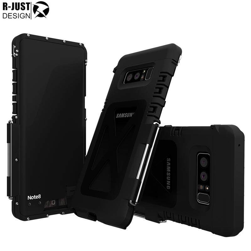Sale R Just Armor King Aluminum Metal Stand Shockproof Protection Phone Cover Case For Galaxy Note 8 Intl China Cheap
