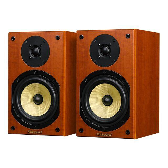 Nobsound NS-2000 Wood 100W 1 Pair 6.5 inches Bookshelf Speakers 2.0 HiFi Column Sound Home Professional speaker - intl