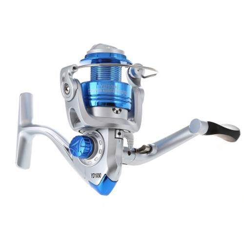 LIE YU WANG YD 8 BEARINGS RIGHT / LEFT HANDLE FISHING SPINNING REEL 5.2 : 1 (SILVER AND BLUE)