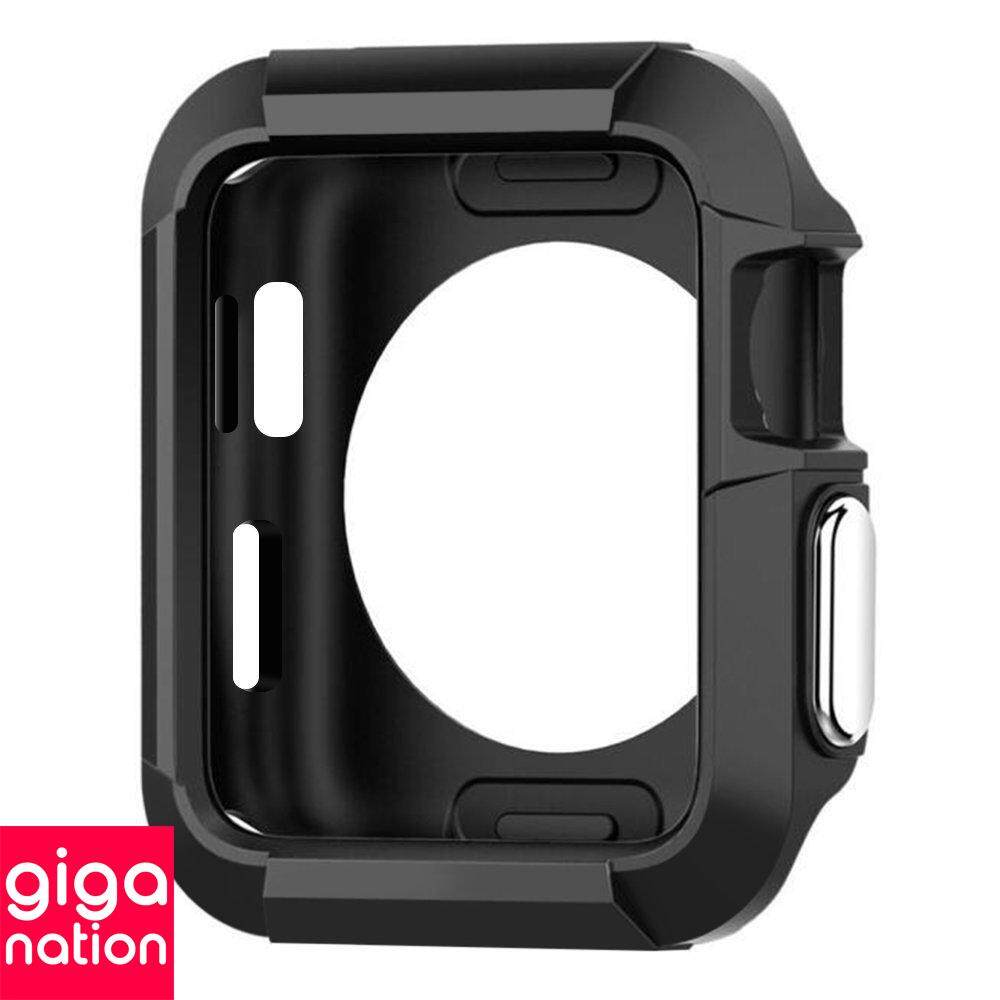 Rugged Cover Tough Armor For Apple Watch Bumps Scratches Shockproof Case