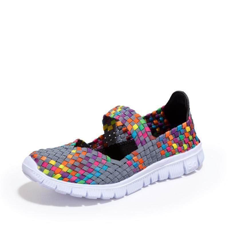 Sandal untuk WANITA SEPATU  Jual Beli Online Datar Sandal dengan Harga  Murah-Internasional aa68b360a9