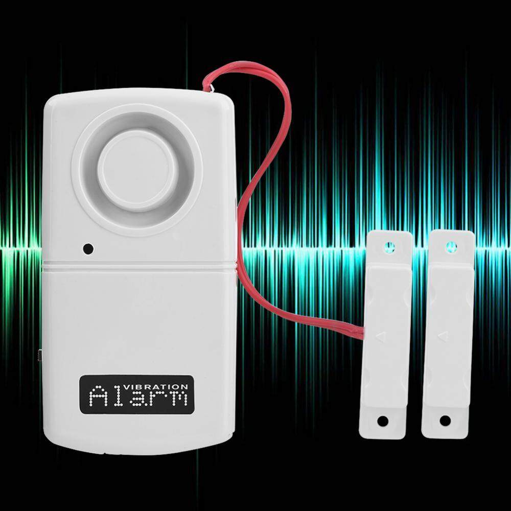 Universal Alarm Anti Maling Pencuri Pintu Jendela Rumah Daftar Hpr186 Kaca Sensor Keamanan 120db 9 V Daya Rendah Burglar Otomatis