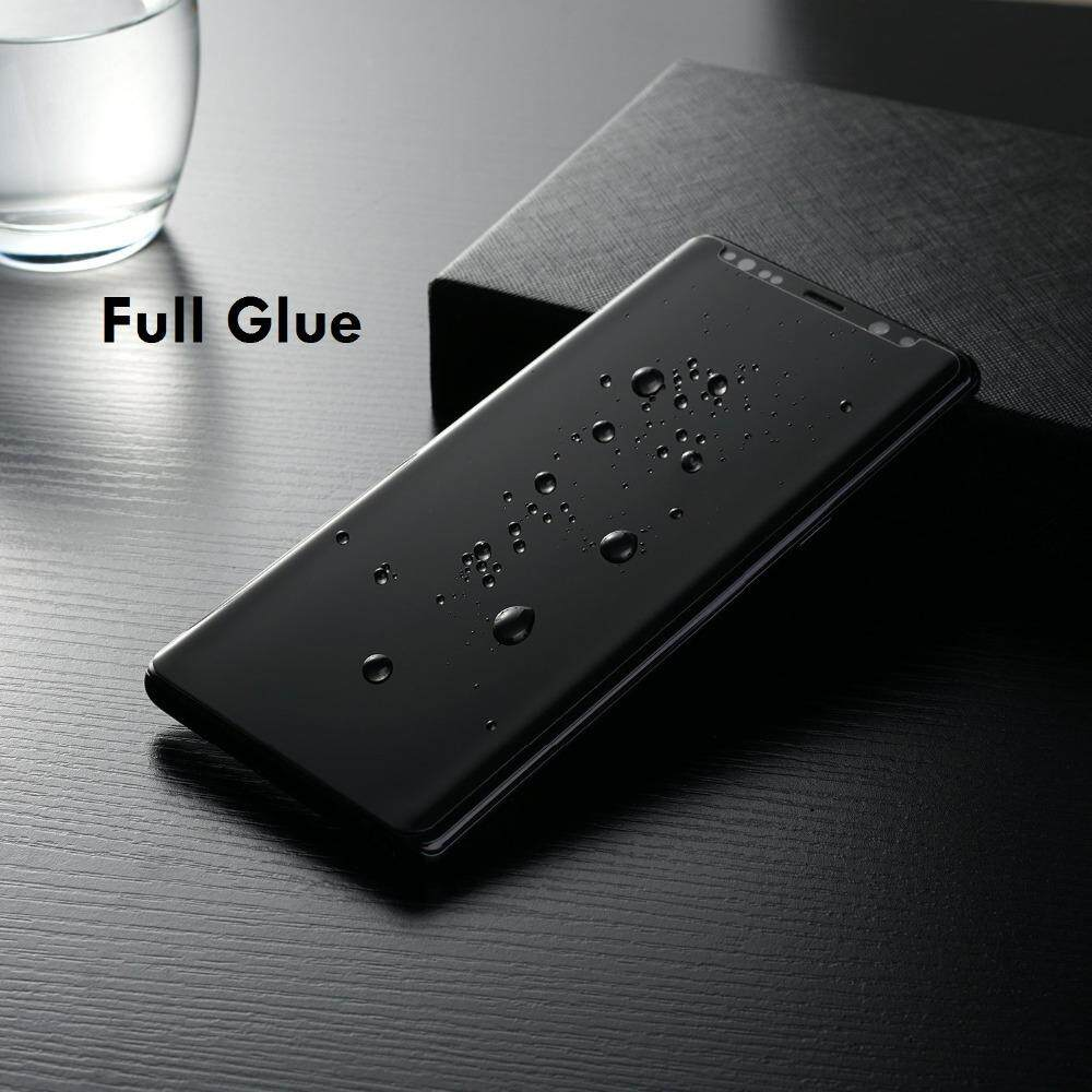 Full Glue Adhensive Case Friendly Anti Glare Tempered Glass Screen Protector For Samsung Galaxy S8 S9