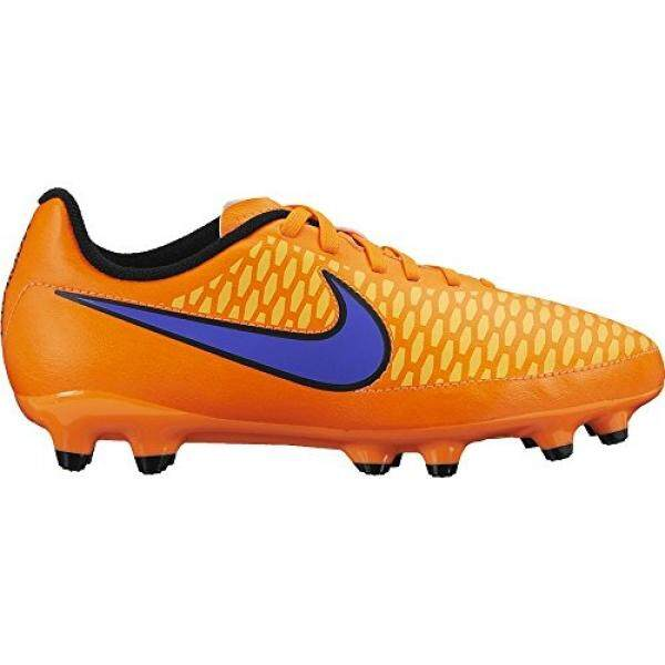 New Nike Boys JR Magista Onda FG Soccer Cleat Total Orange/Violet 3.5 - intl