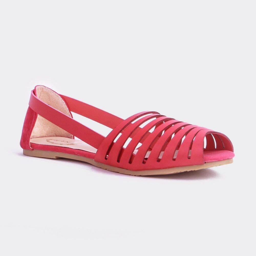 Stitch Sandal Bertali (Merah): Jual Beli Online Datar Sandal dengan Harga Murah-Internasional