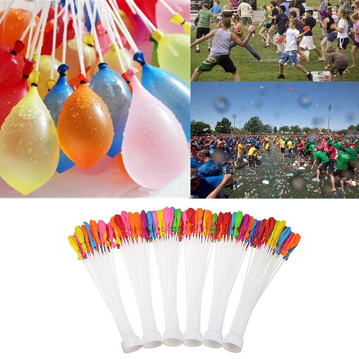 Hình ảnh 6 Bunches Quick Ammo Water Balloons Bombs Outdoor Garden Fun Kids Party Toy - intl