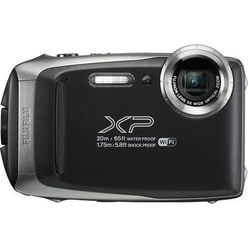 Fujifilm FinePix XP130 Waterproof Camera (Dark Silver)