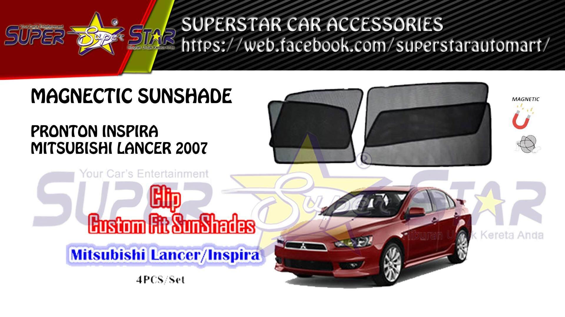 CARFIT MAGNET SHADE SUNSHADE FOR PROTON INSPIRA / LANCER 2007 (4PCS/SET)