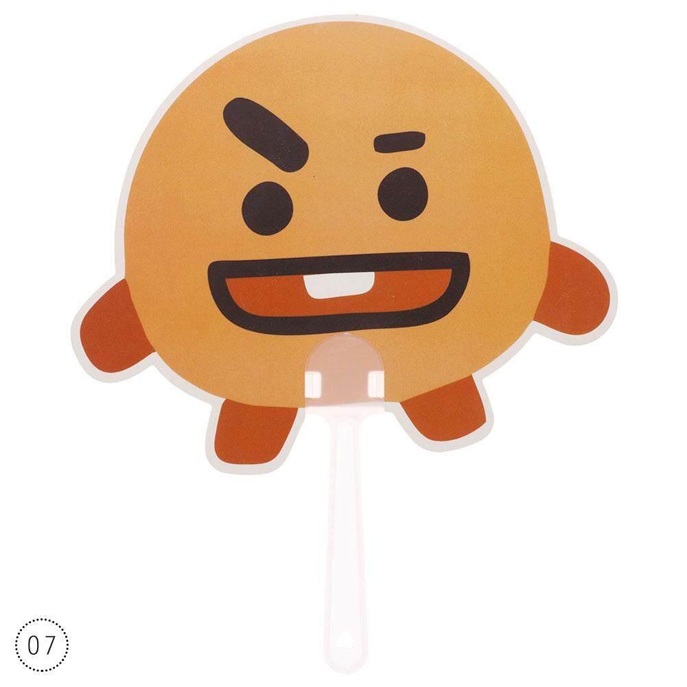 1 PC Kpop BTS BT21 Penggemar Lucu Mini Genggam Lucu Kartun Penggemar -07-Internasional