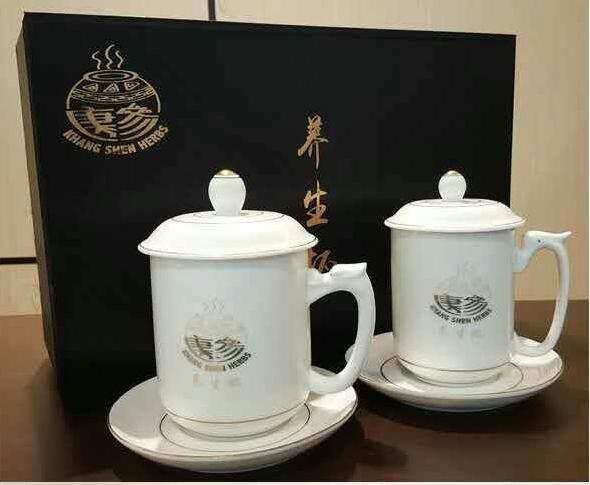 Khang Shen Herbs Pearly Mug