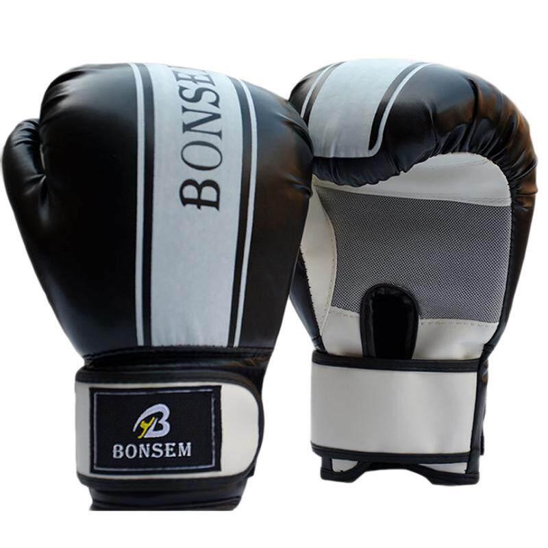 1 MMA Boxing Găng Tay Da PU EVA Thể Thao Chiến Đấu Golves Huấn Luyện Thi Đấu-quốc tế