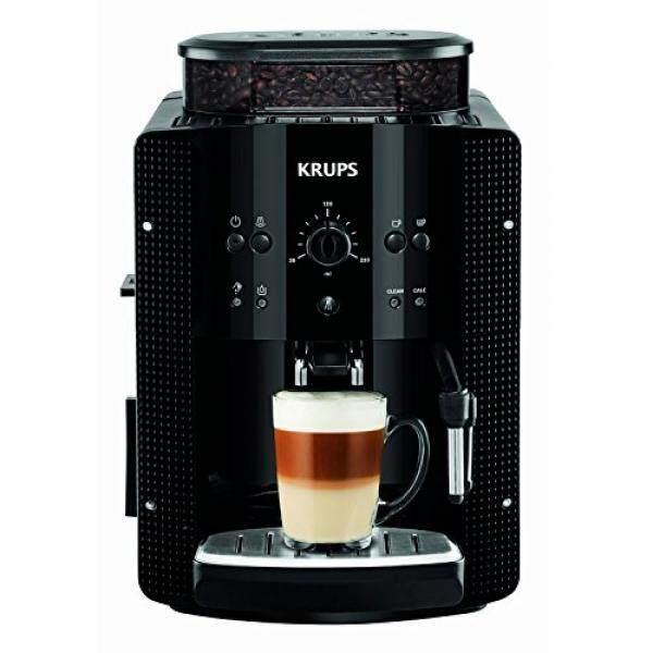 Price Krups Ea8108 Kaffeevollautomat 1450 Watt 1 8 Liter 15 Bar Cappuccinoplus Duse Dampfduse Black South Korea