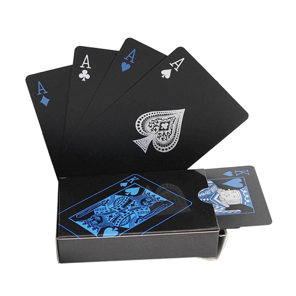 Hình ảnh Mới 54 cái Nhựa Tinh Tế Giải Trí PVC Thẻ Chơi Trò Chơi Game-intl