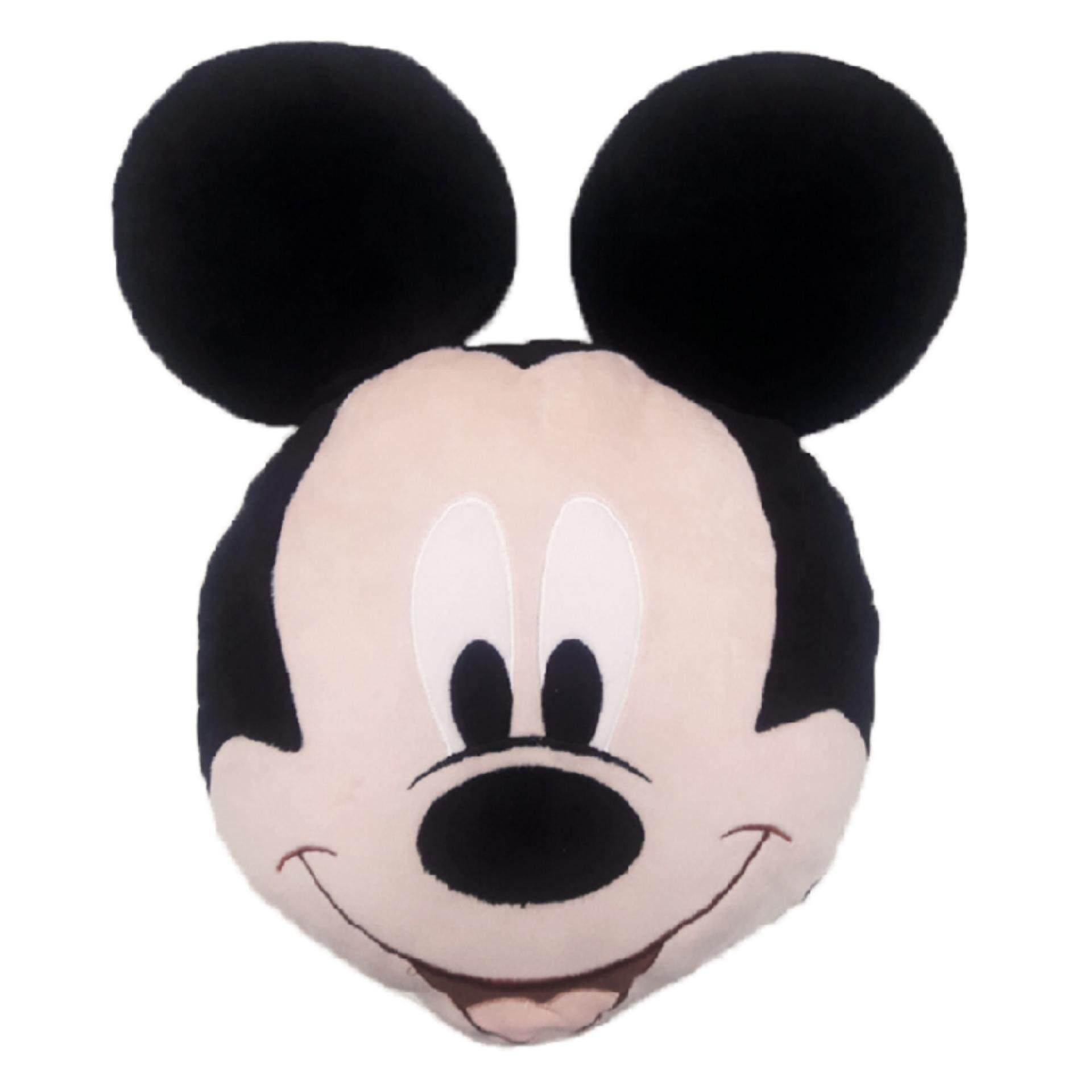 Disney Mickey Face Cushion - Multicolour