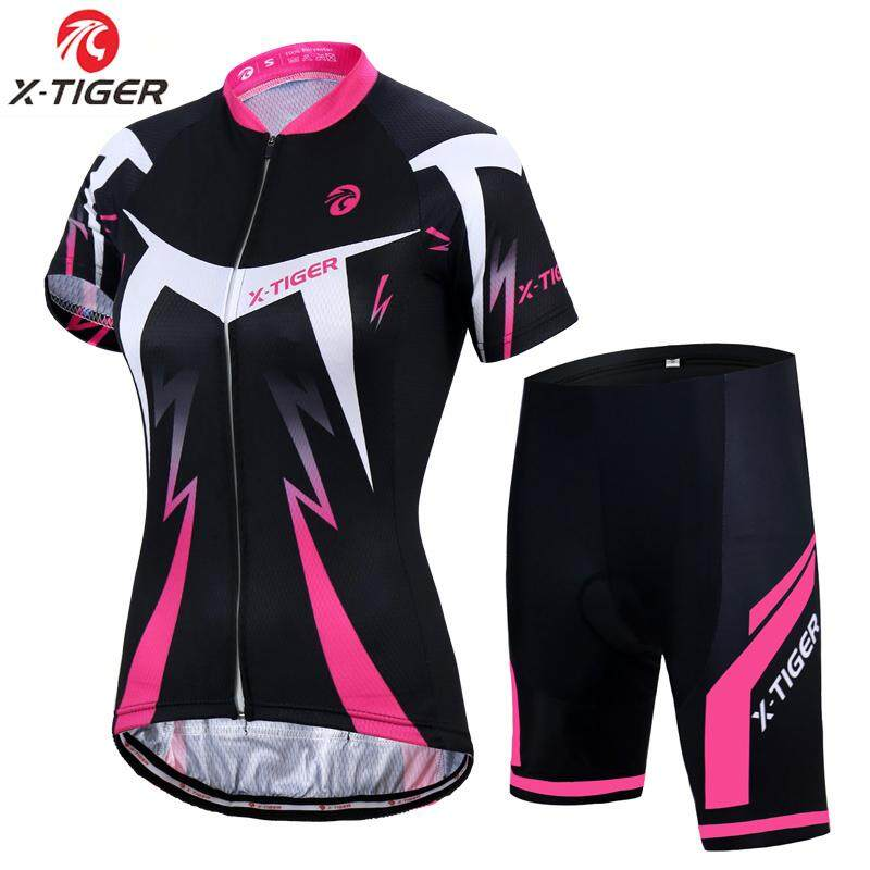 ccad83a12c4 X-Tiger Summer Women MTB Bike Cycling Clothing Breathable Mountian Bicycle  Clothes Quick-Dry