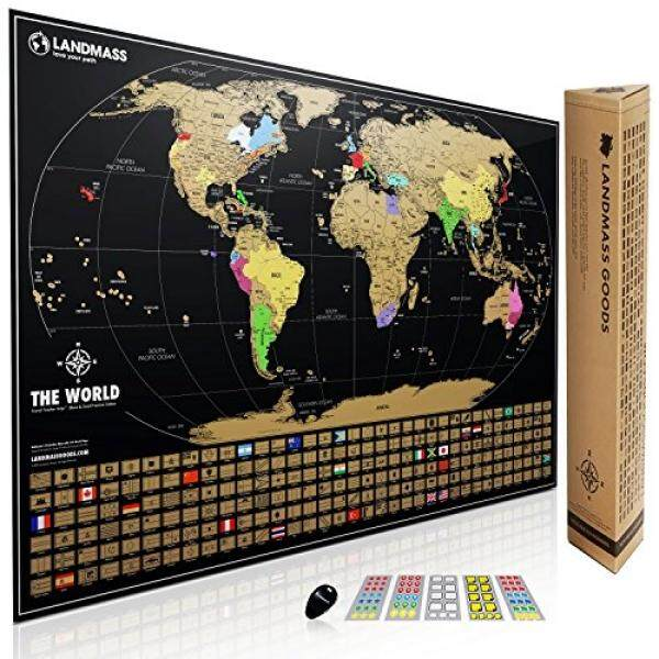 School sets for sale school supply set prices brands review in xl landmass scratch off world map poster extra large travel tracker map print w gumiabroncs Images