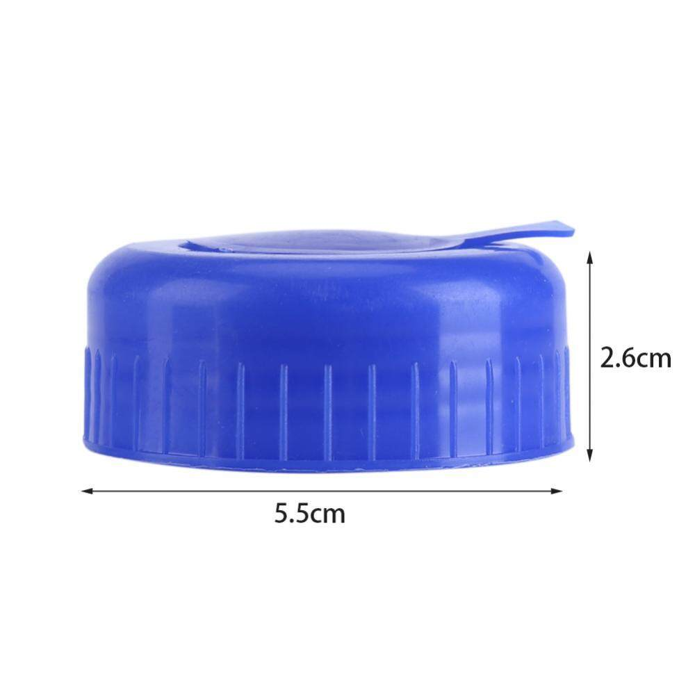 5 Pcs Biru Galon Air Minum Botol Sekrup On Tutup Penggantian Anti Basuhan Tutup-Internasional ...