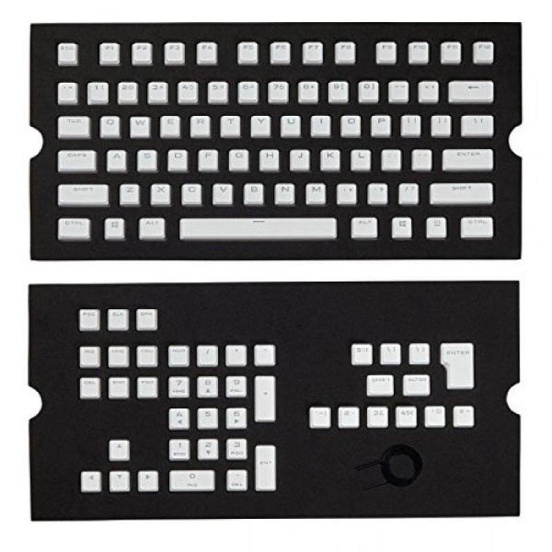 Corsair CH-9000234-WW Gaming PBT Double-shot Keycaps Full 104/105-Keyset - White - intl Singapore