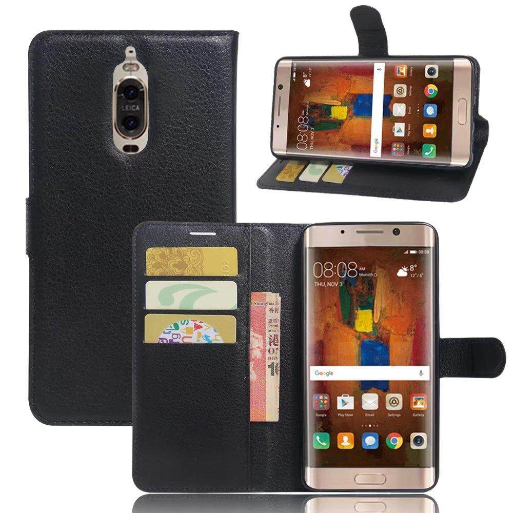 Leather Flip Cover Wallet Card Holder Case For Huawei Mate 9 Pro / Mate 9 Porsche Design - intl