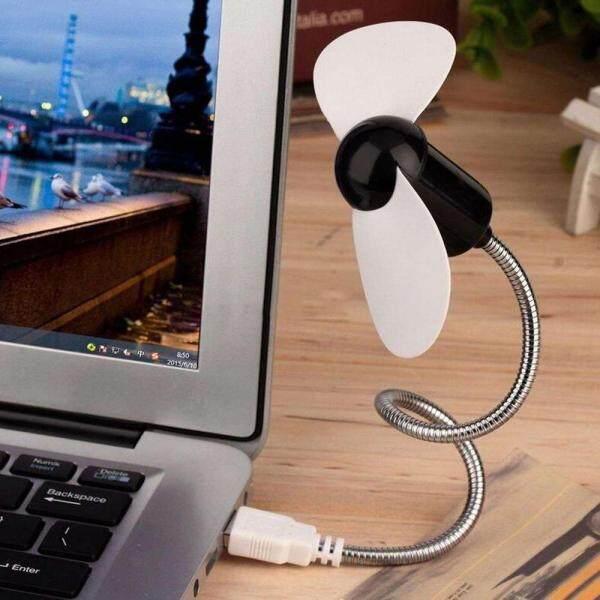 New Colorful Portable USB Cooler Cooling Mini Fan Flexible USB Mini Cooling Fan Cooler For Laptop Desktop PC Computer - intl
