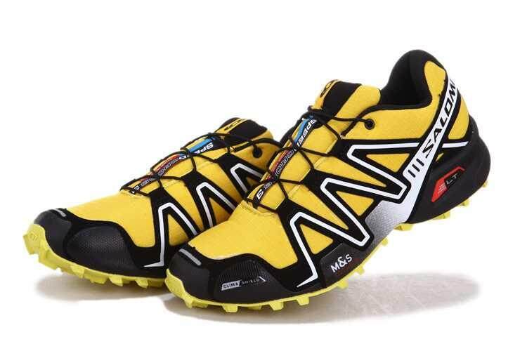 ... Asli Salomon SPEEDCROSS 3 Jejak Lari Shoe Kecepatan Silang 3 CS Daki  Gunung Sepatu Modis Luar ... da7e613eb8