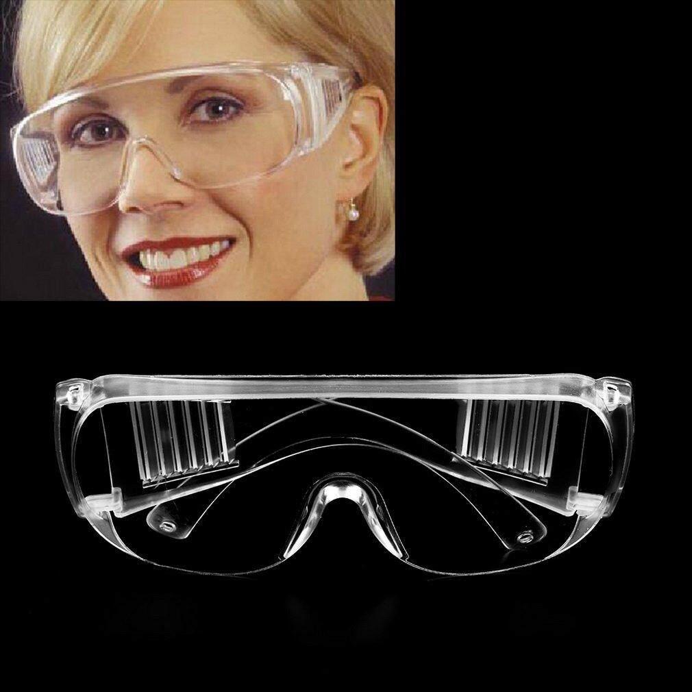 Pelindung Mata Kacamta Safety Kacamata Las Google Buka Tutup Hitam Putih Work Pengaman Jelas Memakai Goggles