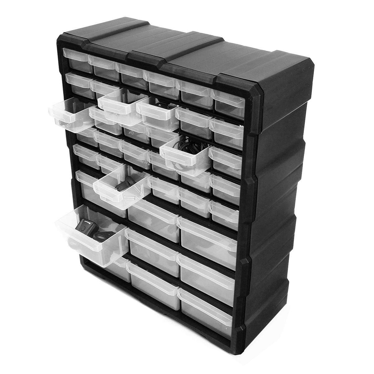 39 Multi Drawer Storage Box Hardware Storage Cabinet Containing Box For DIY Craft Screw - intl