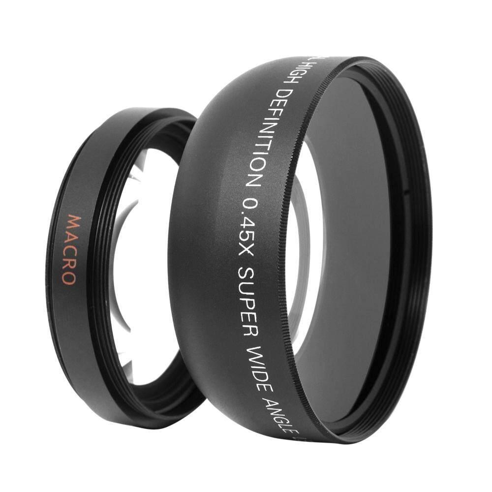 HD 52 Mm 0.45X Wide Angle Lens dengan Lensa Makro untuk Perkakas Bertualang Pentax 52 Mm DSLR Camera-Intl