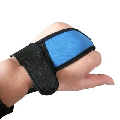 Single Finger Protector Gloves for Fishermen Useful Fishing Tools (CRYSTAL BLUE)