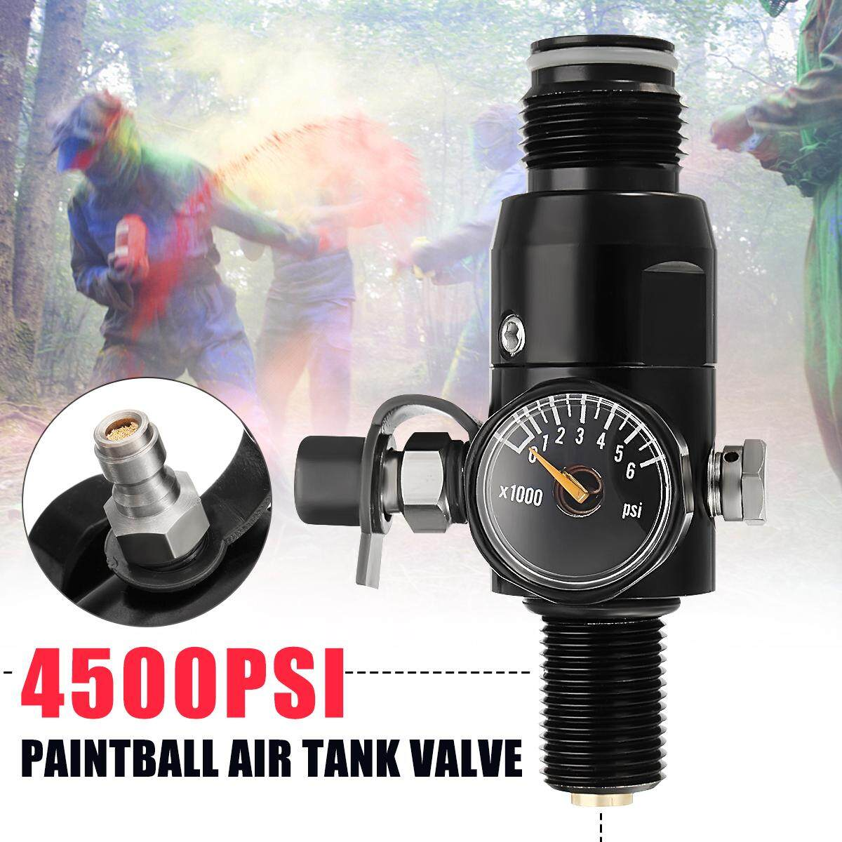 5/8-18UNF Thread Paintball Valve Regulator 4500psi HPA Air Tank Output 1800psi