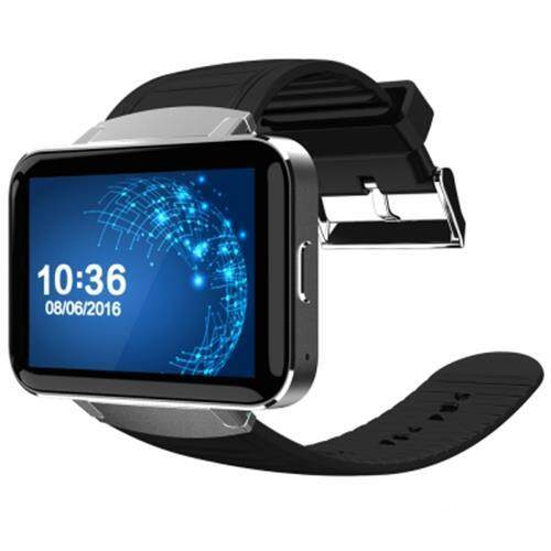 DOMINO DM98 2.2 INCH ANDROID 4.4 3G SMARTWATCH PHONE MTK6572 DUAL CORE 1.2GHZ 4GB ROM CAMERA BLUETOOTH (SILVER AND BLACK)