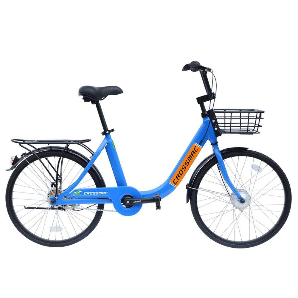 Crossmac Unicycles Bike Cm2408 Blue/orange Decal 24 Inch By Bike City Asia.