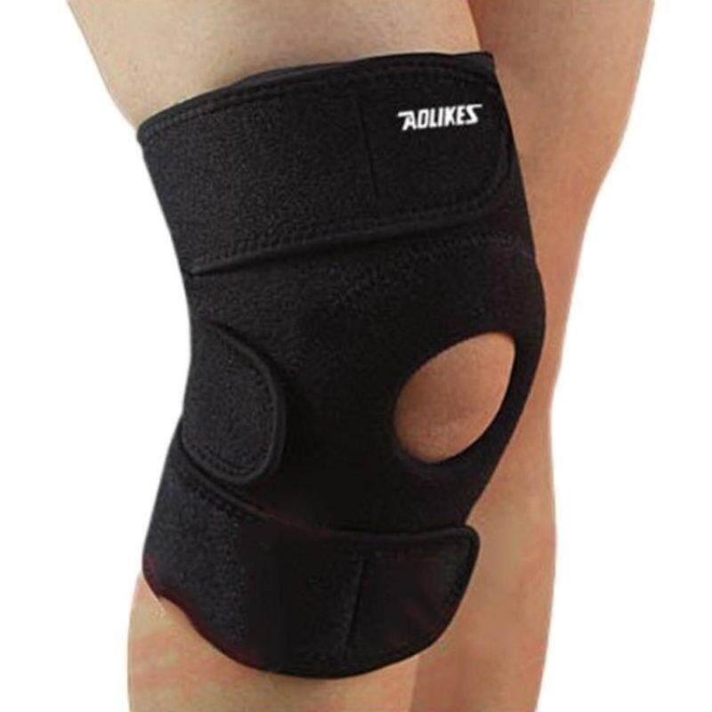 1 Pcs Free Size Elastic Brace Kneepad Adjustable Patella Knee PadsKnee Support Brace Safety Guard Strap for Sports Work Safety &