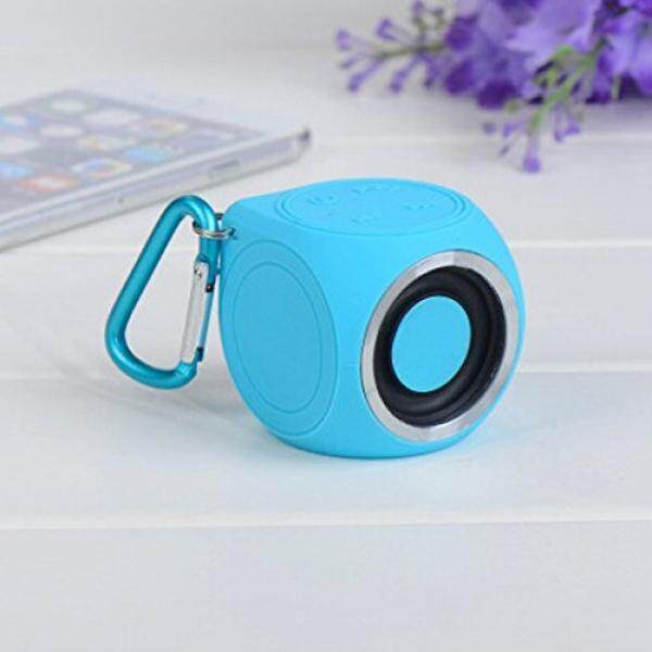 Super mini IPX7 Waterproof Bluetooth Wireless Shower Speaker - intl