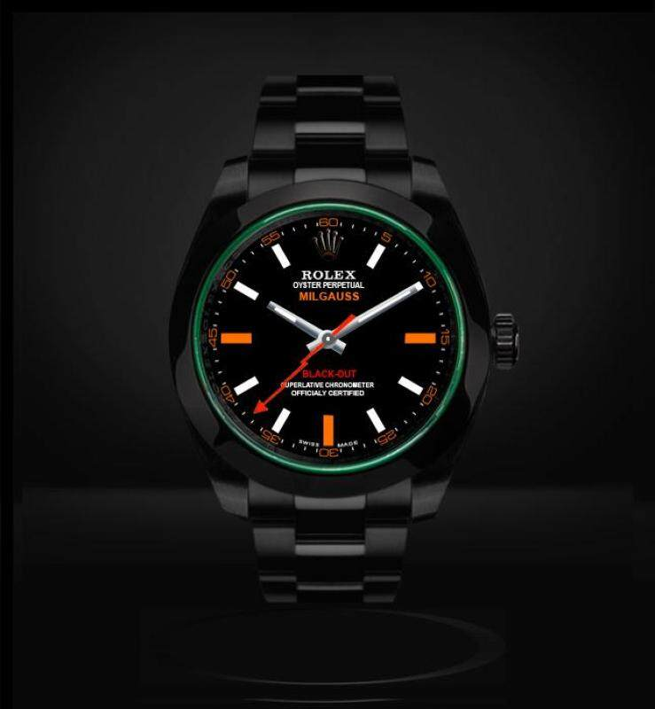 Rolex Milgauss Blackout (Black) Malaysia