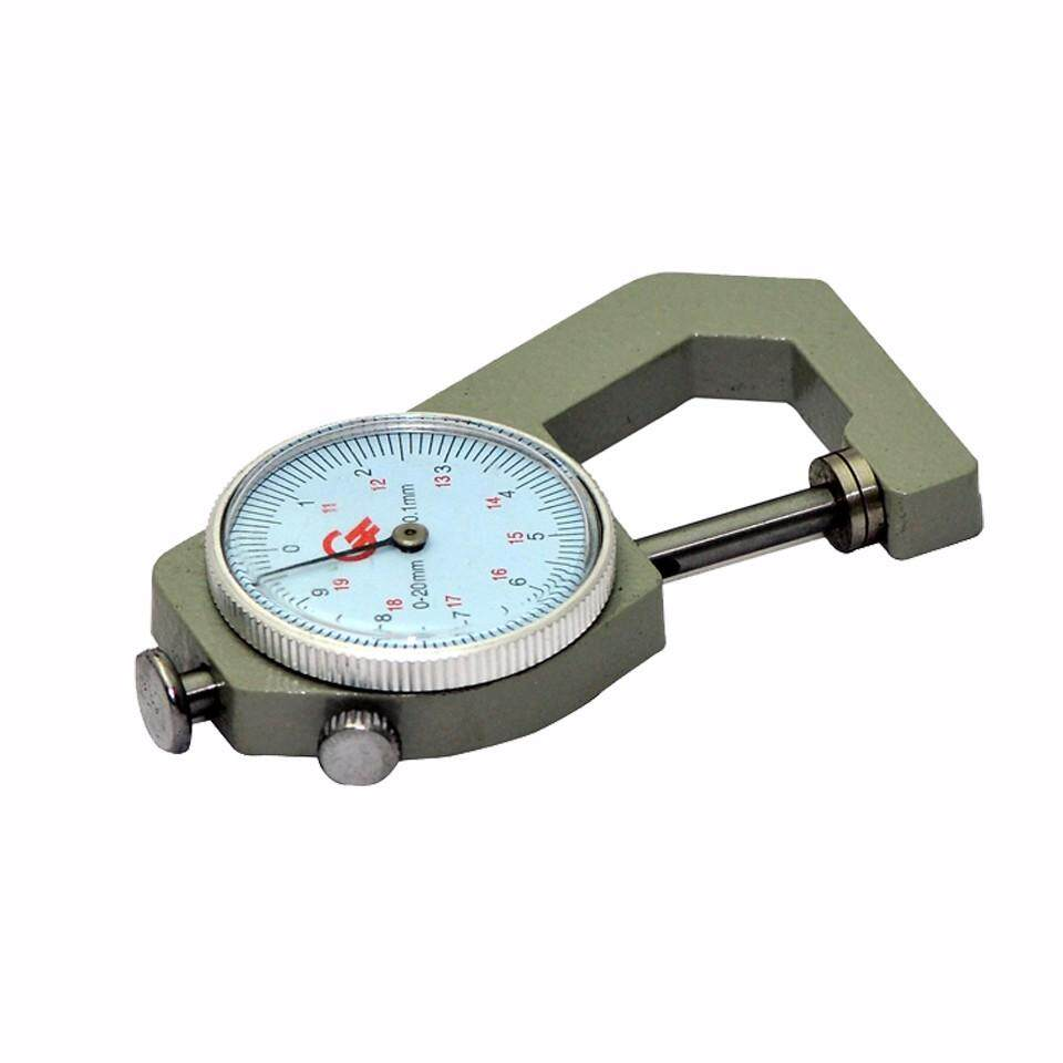 20mm Dial Gem Caliper Jewelry Instrument Thickness Gauge Ruler Card Vernier Caliper Width Diameter Measurement Tool - intl