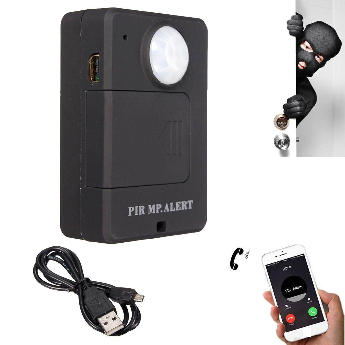 Mini A9 GSM PIR Motion Detection Anti-theft Alert Infrared Security Monitor Alarm - intl