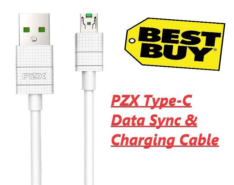 PZX Type-C Data Sync & Charging Cable (2M)