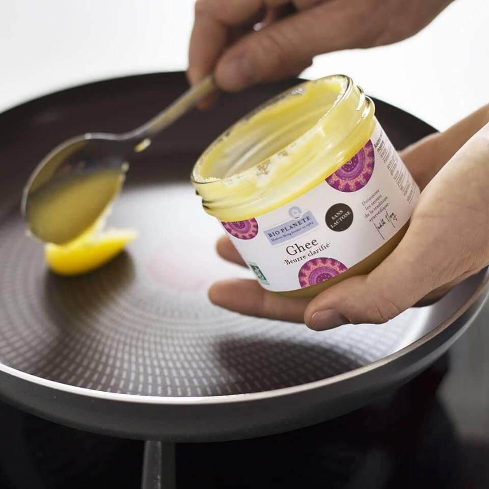 BIO PLANETE Organic Ghee Germany (180g) - Ghee Clarified Butter Origin from Germany - Bio Planete 有机酥油 (180克)